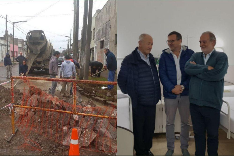 Breves Municipales: Nuevo bacheo y obras en el Hospital Ferreyra
