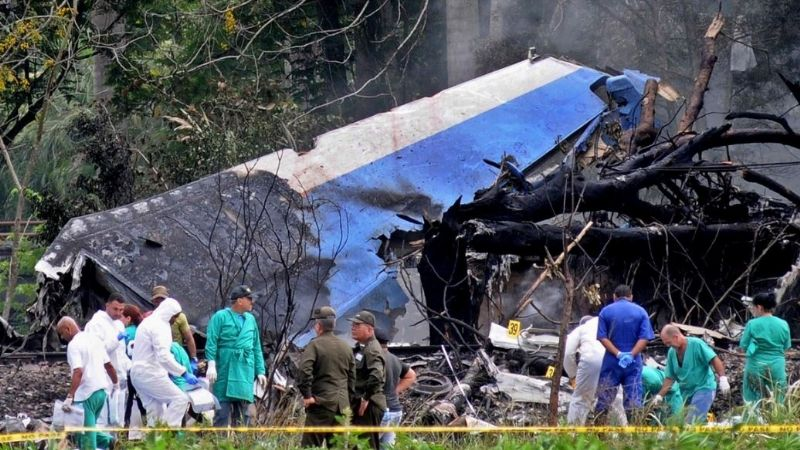 Dos marplatenses murieron en el accidente aéreo de Cuba