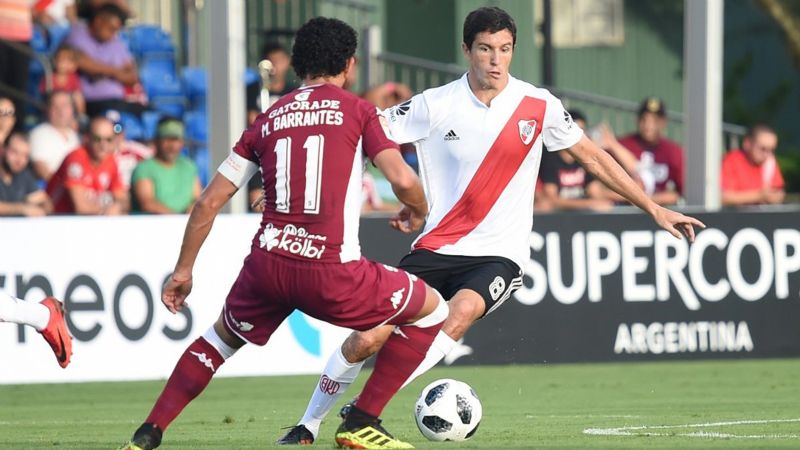 Video: En su primer amistoso, River le ganó al Saprissa por 1 a 0