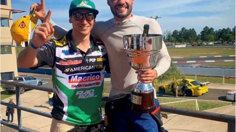 Top Race Series: Franco De Benedictis larga desde la punta